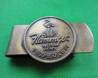 Flamingo Hotel Souvenir Money Clip