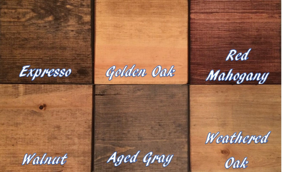 Top Weathered Oak Stain With