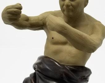 Chinese Shaolin Temple Kung Fu Master Mud Man Vintage