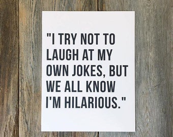 DIGITAL DOWNLOAD. I try not to laugh at my own jokes