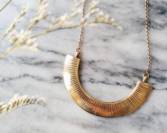 Beam necklace