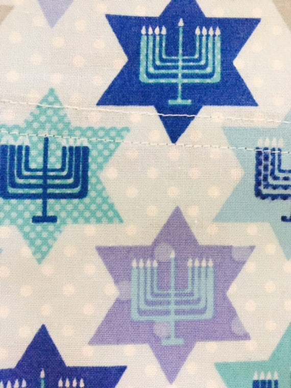 Hanukkah Pillowcase ...  Standard Size ... Hand Made In The Usa by Etsy