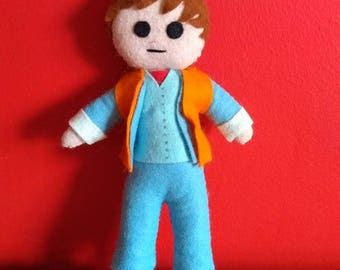 Handmade Marty McFly Plush