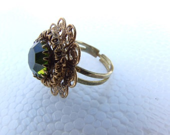 UpCycled Gem of a Ring
