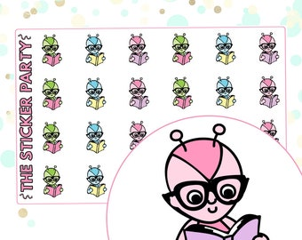 Reading Lumi Reading Planner Stickers