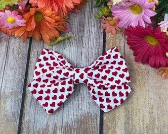 Hearts Bow- Valentine's Day