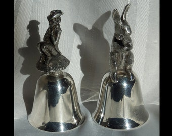 First and Second Annual Limited Edition American Holiday Series Bell, by Reed & Barton
