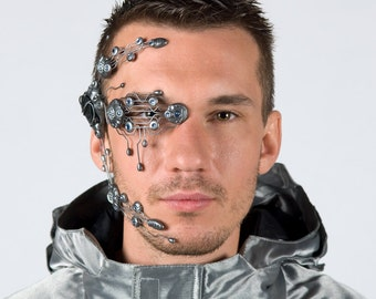 Bionic head system with side mounted LED