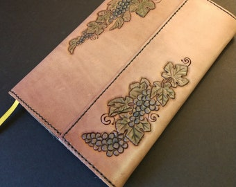Acropolis Leather Travel Journal Cover