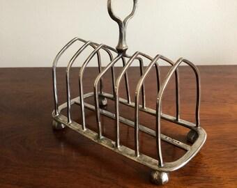 Victorian High Tea Toast Rack, Stand or Holder, Wedding, Desk Accessory, Letter Holder