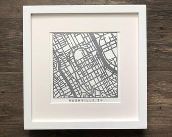 Nashville or Memphis pressed prints