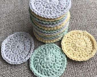 Reusable Cotton Face Scrubbies