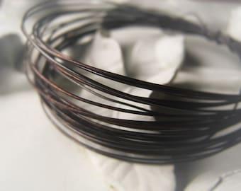 Copper Wire Oxidized Copper Jewelry Wire Antique Copper Wire 16GA 18GA 20GA 22GA 24GA 26GA 28GAItem No. CPRWIRE