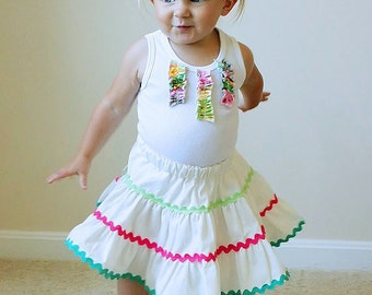 Rhumba Havana Skirt Set Custom Cha Cha 6m to Girls 8