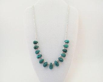 Thirteen Turquoise Teardrops
