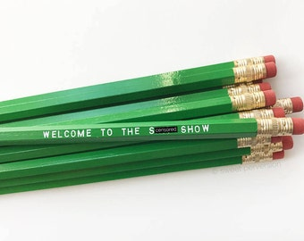 Pencil Set. Sweary Pencils. Mature Pencil Set. Sh*t Show.