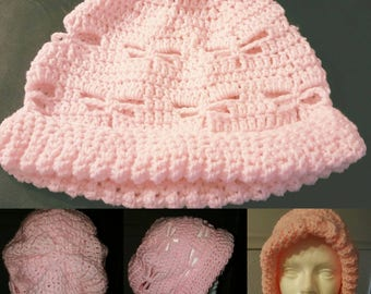 Pink Dragonfly hat