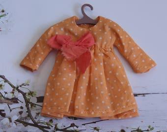 Polka-dot dress for Blythe
