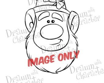 Leprechaun / Digital Stamp/ KopyKake Image-  SP8-LEP