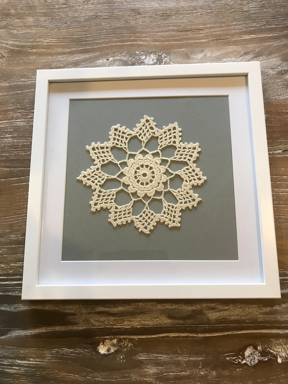 Crochet Framed Art