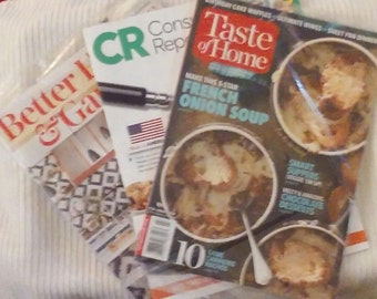 Two New Cooking Magazines, One New Consumer Report!