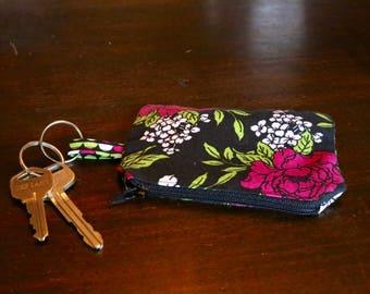 Key Chain Mini-Purse (Available in custom fabrics)