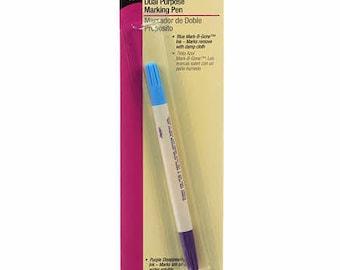Dritz Blue & Purple Marking Pen