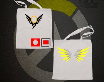 Overwatch-Mercy Tote Bag