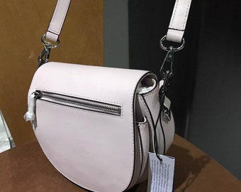 Brand new REBECCA MINK0FF pink crossbody purse with tags and wrapping