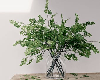 Artificial Clover Greenery Stem