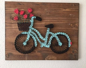MADE TO ORDER Bicycle String Art