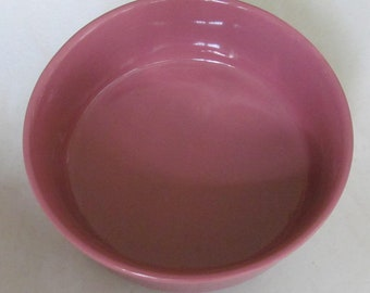 """Hot Pink Color Chowder Round Bowl 5 5/8"""" Ceramic Collectible Bowl"""