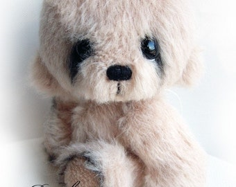 Rambo artist bear epattern by Jenny Lee of jennylovesbenny boutique bears