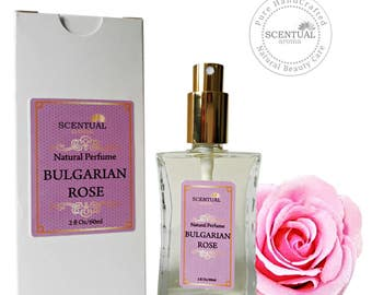 Bulgarian Rose Perfume Oil, Natural Rose Perfume Oil, Vegan Perfume, Gift Idea