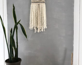 Be My Wings: Woven Wall hanging