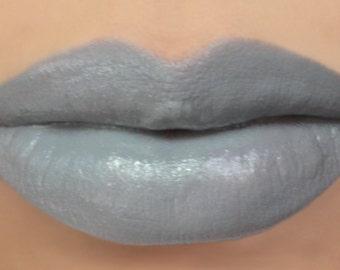 "Vegan Lipstick - ""Dandelion"" (grey / gray lipstick) natural lip tint"