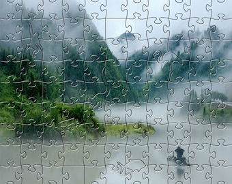 Head to Where Zen Puzzle - Hand crafted, eco-friendly, American made artisanal wooden jigsaw puzzle