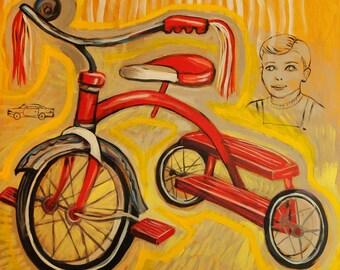 First Bike - Print