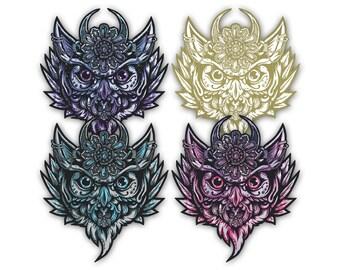 Owl Totem - Vinyl Sticker