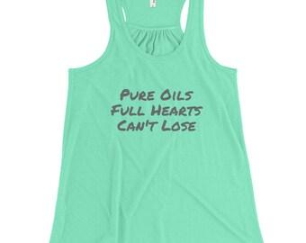 Pure Oils, Full Hearts Tank in Mint