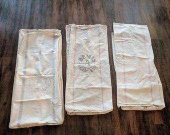 Vintage flour sacks