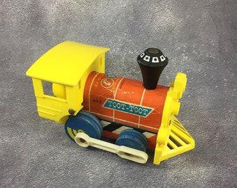 Fisher Price Toot Toot Train Engine 643 - 1964