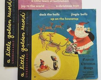 RESERVED For MEGAN -- Golden Records - Christmas - Christmas Golden Records - Kids Christmas Records - Christmas Music - Kid's Music