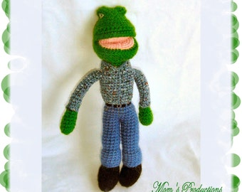 Amigurumi Lalo the Frog