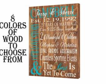 25th anniversary, anniversary gift, 25 anniversary, 25 year anniversary, 25 anniversary gift, silver anniversary, iris anniversary