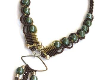 Macrame necklace - Lorelei