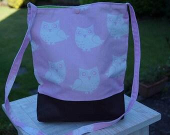 """Shoulder bag """"Owls"""""""