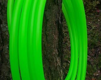 UV Peridot 3/4 polypro collapsible hula hoop