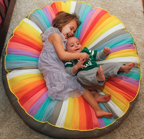 Items Similar To Round Floor Pillow 40 Inches Round
