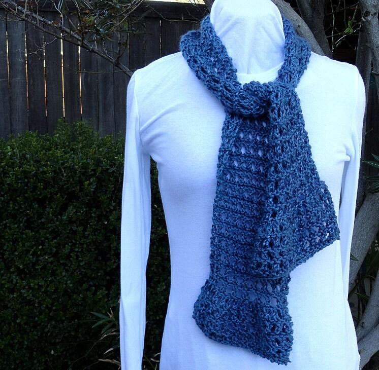 Knitting Pattern for Scarf, Ruffle Scarf Knit Pattern, Diagonal ...